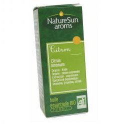 Citron, Huile Essentielle 10ml-NaturSun'Aroms
