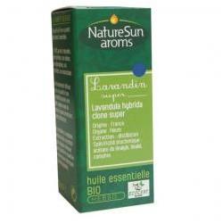 Lavandin Super Huile Essentielle 10ml-NaturSun'Aroms