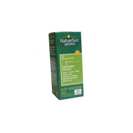 Lemongrass Huile Essentielle 10ml-NaturSun'Aroms