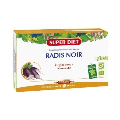 Radis Noir Bio - Ampoules - SuperDiet