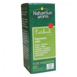 Patchouli, Huile Essentielle 10ml-NaturSun'Aroms
