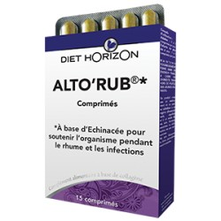 Alto'rub - 15 Comprimés - Diet Horizon