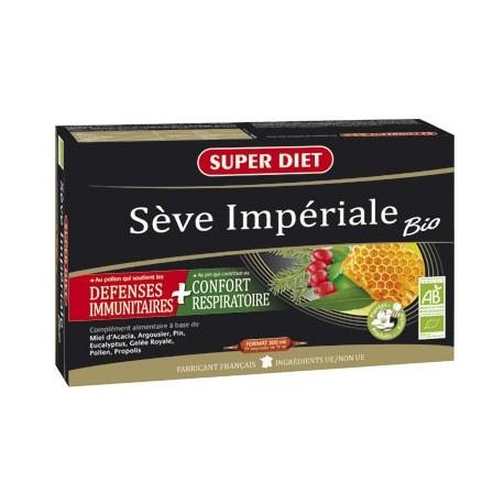 Sève impériale Bio - Ampoules -SuperDiet