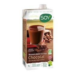 Boisson végétale Bio Soja Chocolat Bio 1L-SOY