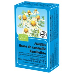 Tisane Camomille - 15 Infusettes - Floradix