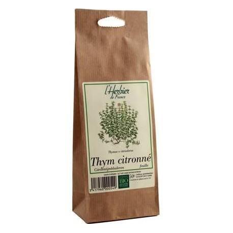 Thym citronné (Feuille) Bio 50g-L'Herbier de France