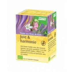 Joie & Harmonie aux Fleurs de Bach - 15 Infusettes - Salus