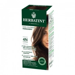 Coloration Cheveux Naturelle 4N Chatain - 150ml - Herbatint