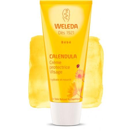 Crème Protectrice Visage au Calendula 50ml-Weleda