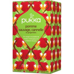 Pomme sauvage, Cannelle et Gingembre 40g-Pukka