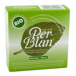 Poudre Dentaire Menthe 30g-Per-Blan