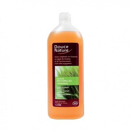 Douche des Familles Lemongrass 1L-Douce Nature