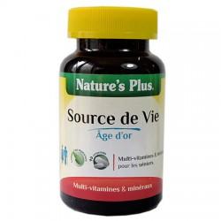 Source de Vie Âge d'Or - 90 Comprimés - Nature's Plus