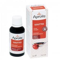 Gouttes Proplis Echinacée Acérola - 30ml - Aprolis