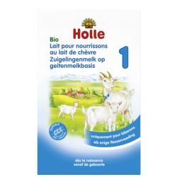 Lait pour nourrissons au lait de chèvre 1 Bio 400g-Holle