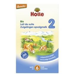 Lait de suite 2 Bio 600g-Holle