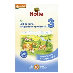 Lait de suite 3 Bio 600g-Holle