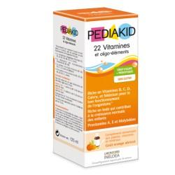 Pediakid 22 Vitamines et oligo-éléments 125mL-Laboratoire Ineldea