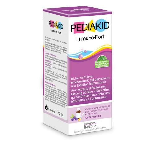 Pediakid Immuno-Fort 125mL-Laboratoire Ineldea