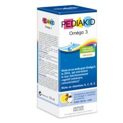 Pediakid Oméga 3 125mL-Laboratoire Ineldea