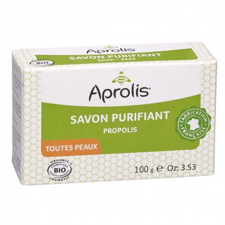 Savon purifiant Propolis - 100g-Aprolis
