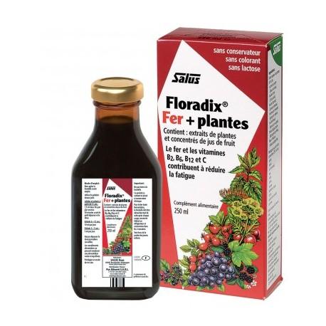 Floradix Fer + Plantes - 250ml - Salus