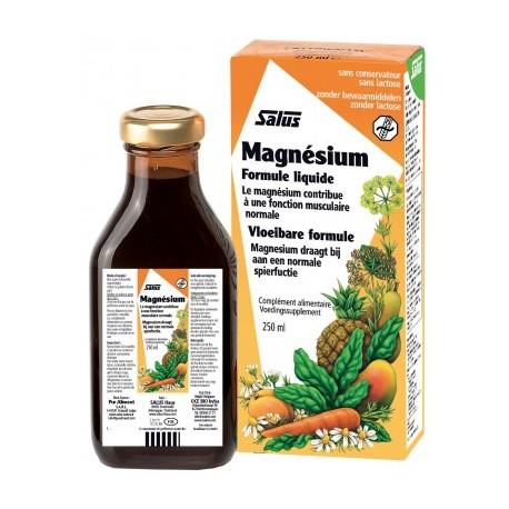 Magnésium - Formule Liquide - 250ml - Salus