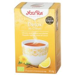Detox au Citron 30.6g-Yogi Tea