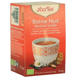 Bonne Nuit Rooibos Vanille 30.6g-Yogi Tea