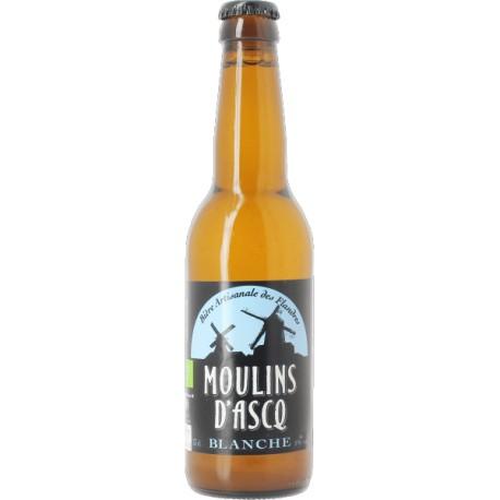 Bière Blanche - 33cl - Moulins d'Ascq