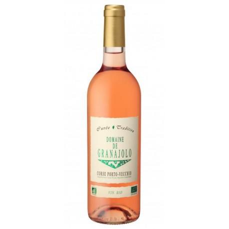 Vin Rosé Bio Cuvée Tradition - 75cl - Domaine Granajolo