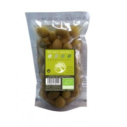 Olives vertes naturelles 200g-Philia