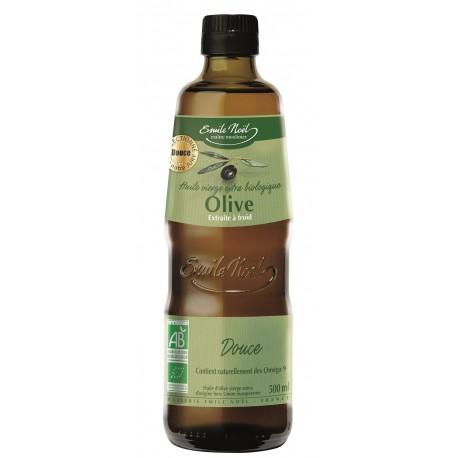 Huile d'Olive Vierge Extra Douce Bio Emile Noel 500ml