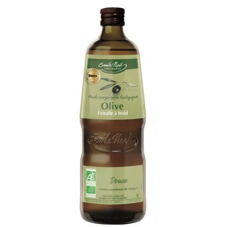 Huile d'Olive Vierge Extra Douce Bio Emile Noel 1L