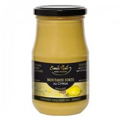 Moutarde Forte au Citron Emile Noel, 200g