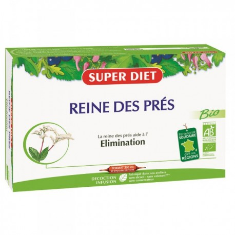 Reine des Prés- Elimination - 20 Ampoules - SuperDiet
