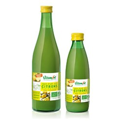 Jus de Citron Bio 0.5L-Vitamont