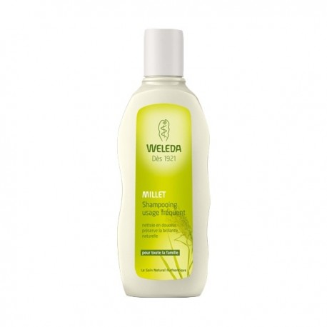 Shampooing Usage Fréquent au Millet - 190ml - Weleda