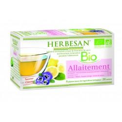 Infusion Bio Allaitement - 20 Sachets - Herbesan