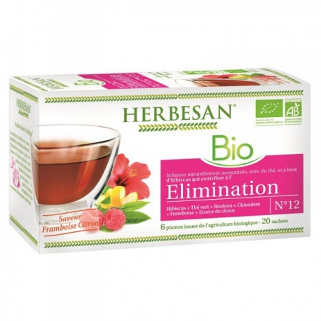 Infusion Bio Elimination - 20 Sachets - Herbesan