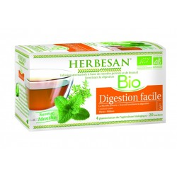 Infusion Digestion Facile- 20 Sachets - Herbesan