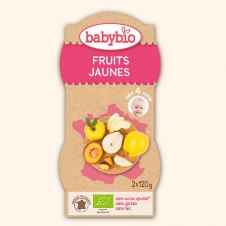 Bol de Fruits Jaunes - 2 x 120g - Babybio