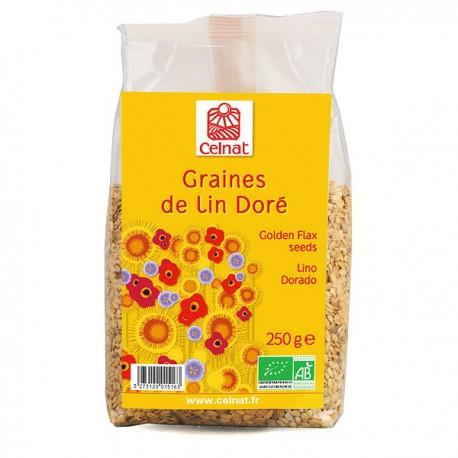 Graines de Lin Doré 250g-Celnat