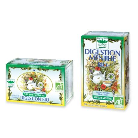 Tisane Digestion Menthe - 20 Sachets - Romon nature