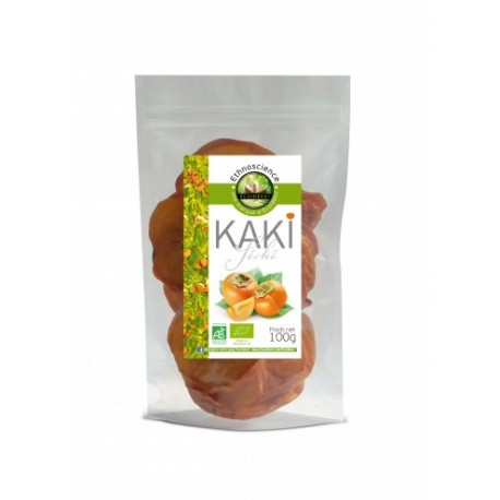 Kaki Séché Bio 100g-Ethnoscience Écoidées