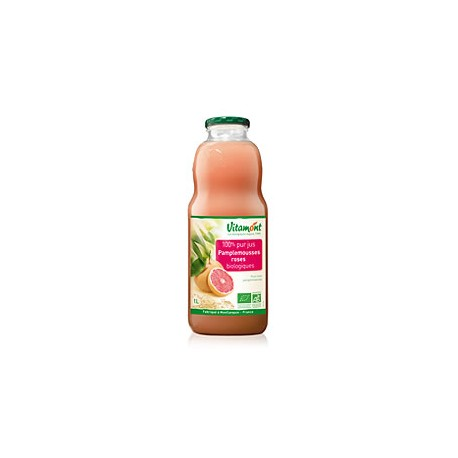 Jus de Pamplemousse Rose Bio 1L-Vitamont