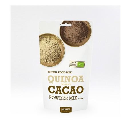 Quinoa et Cacao Poudre - Purasana - 200g