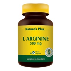 L-Arginine - 500mg - Nature's Plus