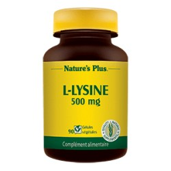 L-Lysine - 500mg - Nature's Plus