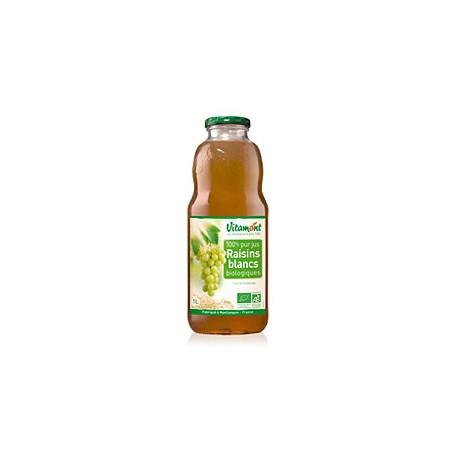 Jus de Raisins Blancs Bio 1L-Vitamont